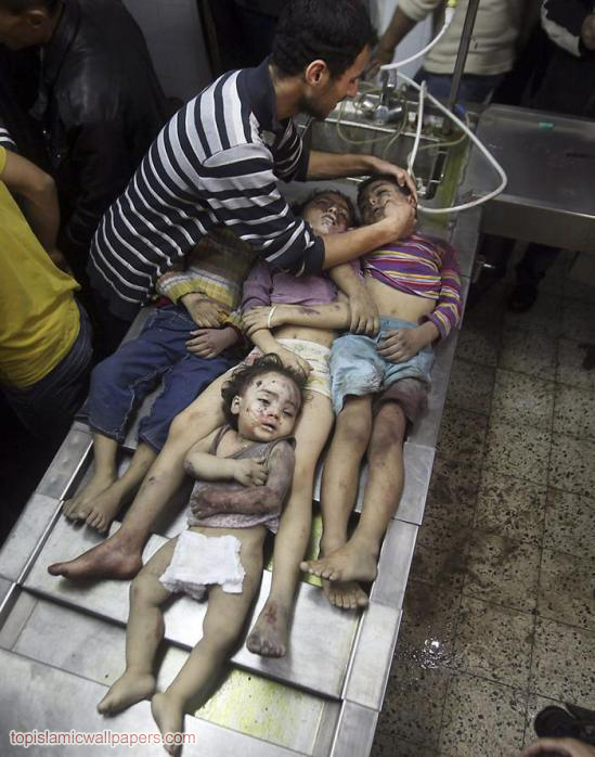 Gaza Under Attack_2012_kids