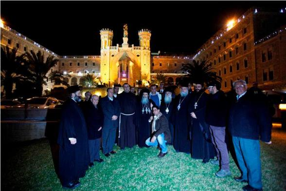 Festivities in advance of Christmas in Jerusalem - Dec 16, 2012 Photo by WAFA