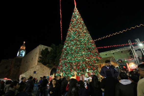 Share this Post with your friends: - Bethlehem-christmas-tree-lighting-celebration-in-manger-square-photo