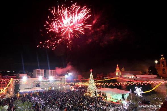 Dec 16 2012 Bethlehem - Photo by Xinhua