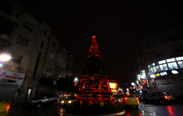 Dec 21 2012 Ramallah at Night