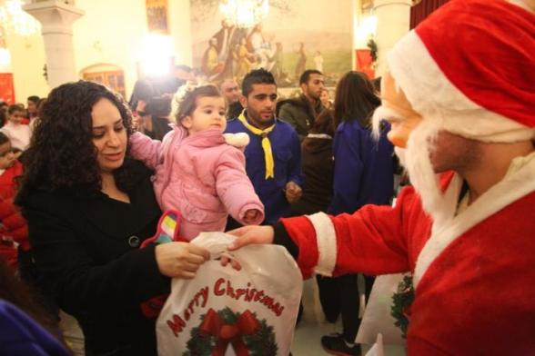 Dec 22 2012 Christmas Ramallah - Photo by WAFA