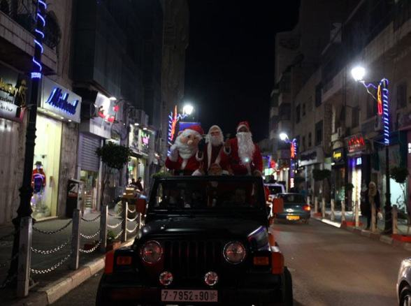 Dec 23 2012 Ramallah Christmas in Palestine Photo by WAFA