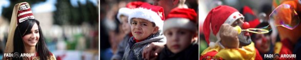 Dec 24 2012 Christmas in Palestine Bethlehem  - Photo by Fadi Arouri
