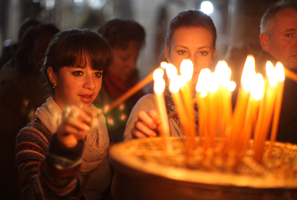 Dec 24 2012  Bethlehem celebrations of Christmas Photo by  Eyad Jadallah - WAFA
