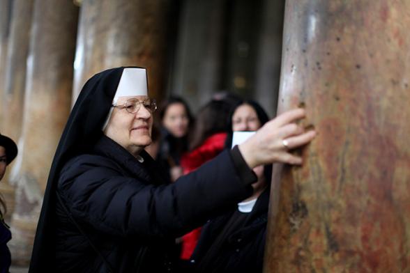 Dec 24 2012  Bethlehem celebrations of Christmas Photo by  Eyad Jadallah - WAFA