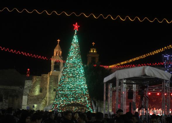 Dec 24 2012 - Bethlehem - Christmas atmosphere Photo by Tamer PANA