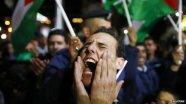 Palestinians celebrate historic day