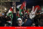Palestinians celebrating Victory in UN Poll