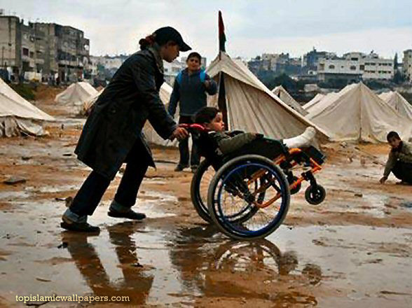 disabled-child-in-gaza-refugee-camps