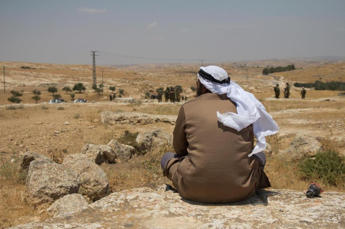 Important Supreme Court session on the future of the Palestinian village of Susiya ~