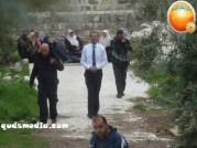 Israeli MK Moshe Feiglin storms al-Aqsa Mosque – Photo by WAFA