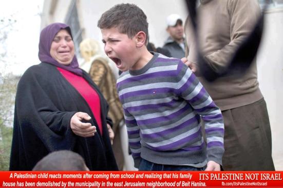 Israel demolishes house in Beit Hanina, Jerusalem-5-Feb-2013-Itspalestinenotisrael_pic-11