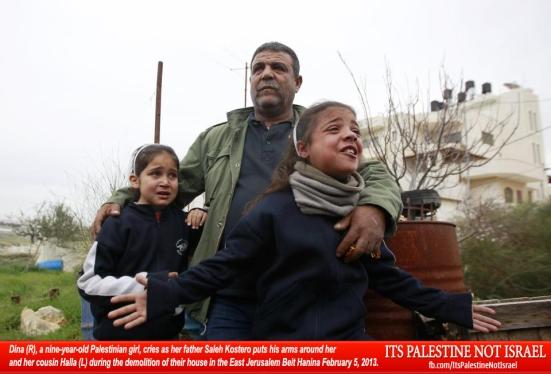 Israel demolishes house in Beit Hanina, Jerusalem-5-Feb-2013-Itspalestinenotisrael_pic-16