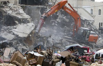Israel demolishes house in Beit Hanina, Jerusalem-5-Feb-2013-Itspalestinenotisrael_pic-20