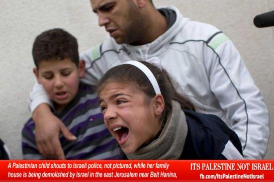 Israel demolishes house in Beit Hanina, Jerusalem-5-Feb-2013-Itspalestinenotisrael_pic-24
