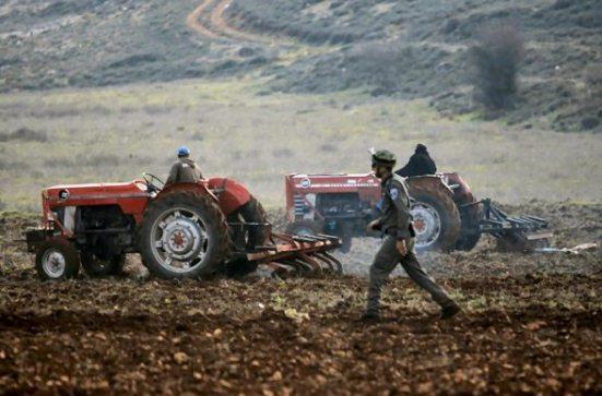 Settlers attack farmers in Jaloud – Jan 2, 2013