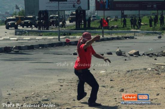 Clashes at Huwarra checkpoint, March 1, 2013_04