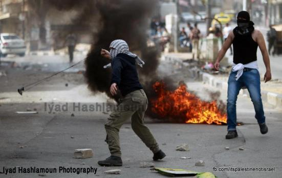 Clashes in Hebron on March_15_2013_05