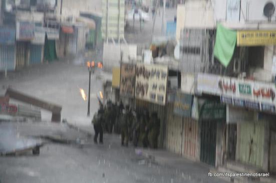 Clashes in Hebron on March_15_2013_08