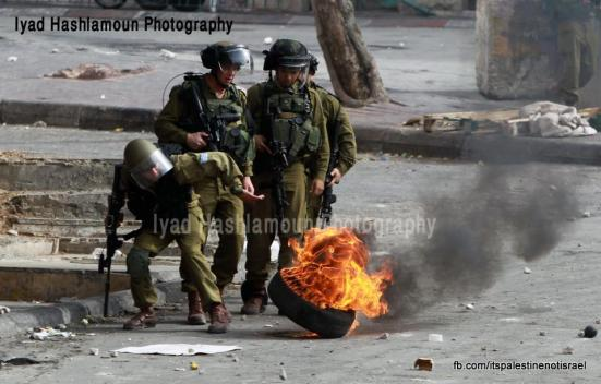 Clashes in Hebron on March_15_2013_16