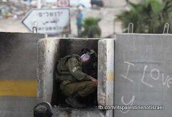 Funeral of Palestinian killed by Israel, al-Ram, March_15_2013_03