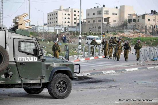 Funeral of Palestinian killed by Israel, al-Ram, March_15_2013_16