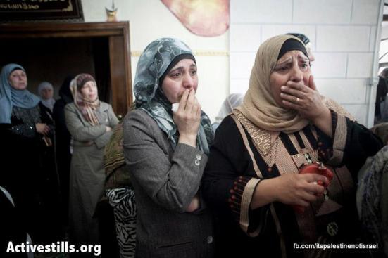 Funeral of Palestinian killed by Israel, al-Ram, March_15_2013_20