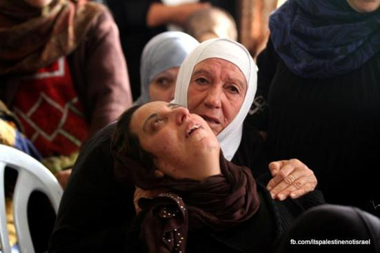 Funeral of Palestinian killed by Israel, al-Ram, March_15_2013_23