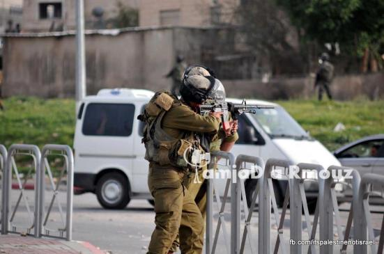 Funeral of Palestinian killed by Israel, al-Ram, March_15_2013_24