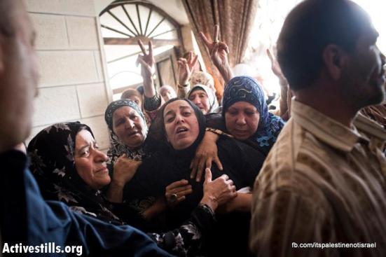 Funeral of Palestinian killed by Israel, al-Ram, March_15_2013_25