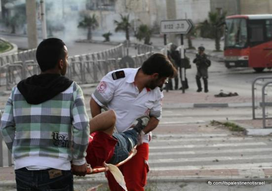 Funeral of Palestinian killed by Israel, al-Ram, March_15_2013_27