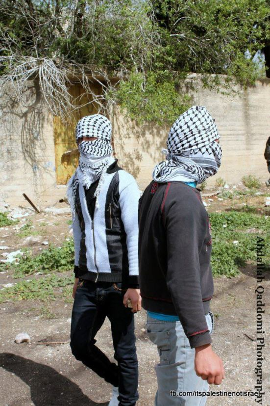 Kufr Qaddom weekly demonstration, March 1, 2013_11
