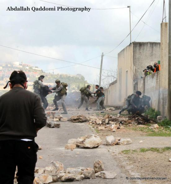 Kufr Qaddom weekly demonstration, March 1, 2013_13