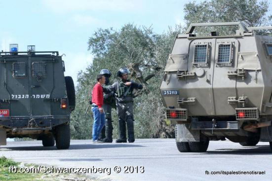 Nabi Saleh weekly demonstration, March 1, 2013_01