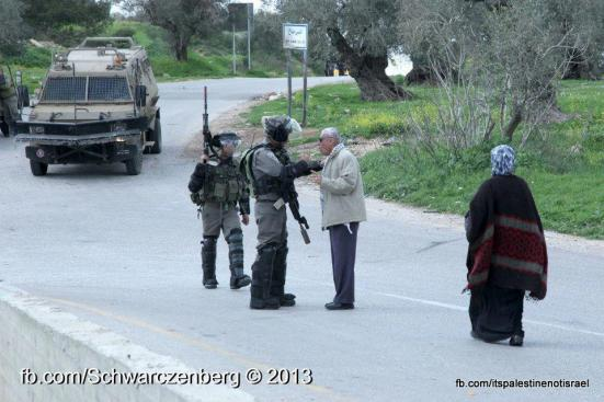 Nabi Saleh weekly demonstration, March 1, 2013_02