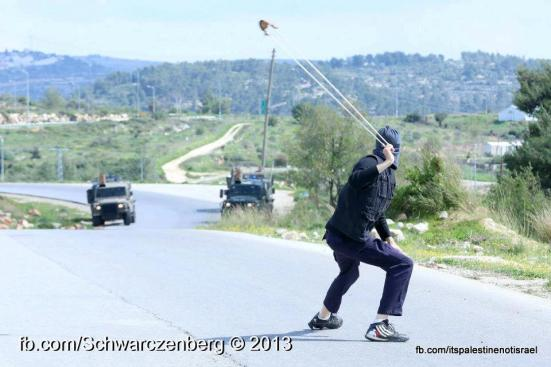 Nabi Saleh weekly demonstration, March 1, 2013_04