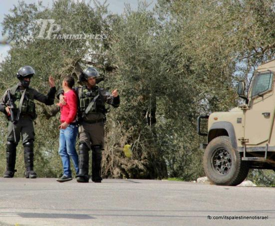 Nabi Saleh weekly demonstration, March 1, 2013_06