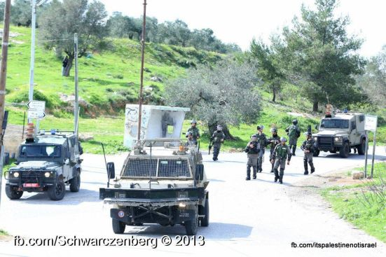 Nabi Saleh weekly demonstration, March 1, 2013_08