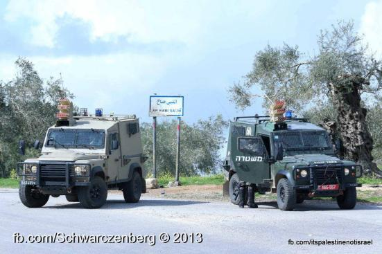 Nabi Saleh weekly demonstration, March 1, 2013_09