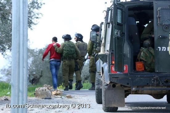 Nabi Saleh weekly demonstration, March 1, 2013_10