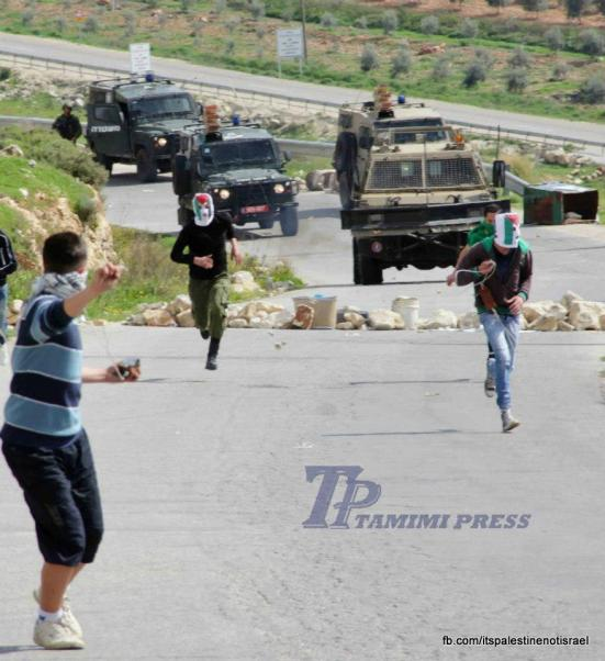 Nabi Saleh weekly demonstration, March 1, 2013_16