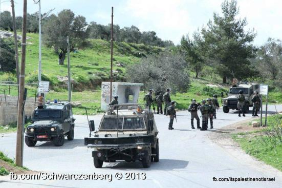 Nabi Saleh weekly demonstration, March 1, 2013_18