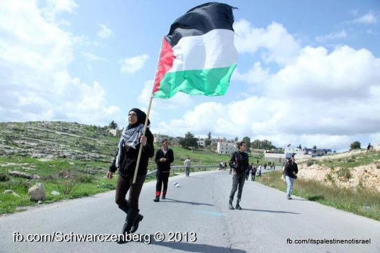 Nabi Saleh weekly demonstration, March 1, 2013_30
