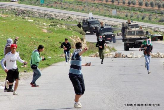 Nabi Saleh weekly demonstration, March 1, 2013_31