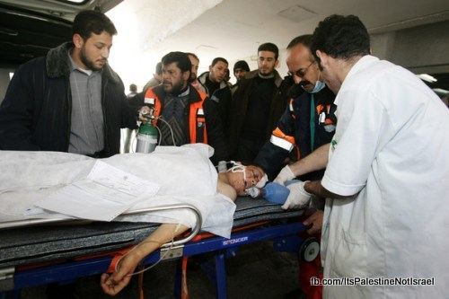 Operation_cast_lead_Victims_Wounded_After_Attack_25