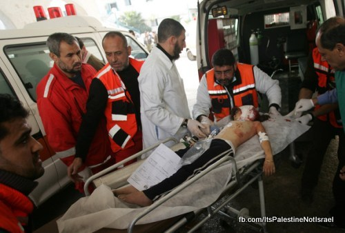 Operation_cast_lead_Victims_Wounded_After_Attack_39