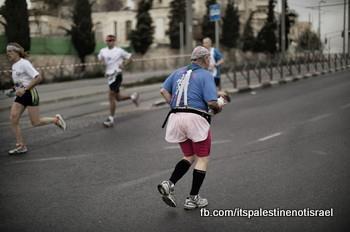 Protest against Israeli marathon, March 1, 2013_01