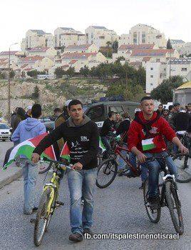 Protest against Israeli marathon, March 1, 2013_02