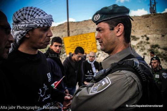 Protest against Israeli marathon, March 1, 2013_07